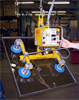 Compressed Air Powered Vacuum Lifter with Powered Tilter -- AT20M4-24-2/20 - Image