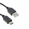 USB Cables -- 2057-CA-USB-AM-CM-3FT-ND -Image