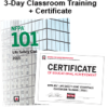 NFPA 101, Life Safety Code (2018) Essentials 3-day Classroom Training with Certificate of Educational Achievement - Image