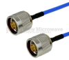 N Male to N Male Cable FM-F141 Coax in 60 Inch and RoHS with LF Solder -- FMC0101141LF-60 -Image
