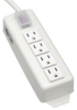 Power It! Power Strip with 4 Outlets and 6-ft. Cord -- TLM406NC