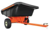 Dump Cart,12 cu. ft.,800 lb.,Pneumatic -- 45-0464
