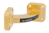 WR-28 Instrumentation Grade Waveguide H-Bend with UG-599/U Flange Operating from 26.5 GHz to 40 GHz -- PE-W28B002 - Image