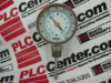"TRERICE B8340204 ( BOTTOM CONNECT BIMETAL THERMOMETER ±1%, MODEL B834, DIAL3"", CASE 300SS, STEM 2.5"" BOTTOM, RANGE 0 - 200 F/C, H999, WITH RECAL ) -Image"