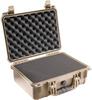 Pelican 1450 Case with Foam - Desert Tan   SPECIAL PRICE IN CART -- PEL-1450-000-190 -Image