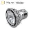 E27 LED Bulb 5W 45 Deg Silver - Warm White -- LB-SC-E27-1S-WW - Image