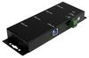 4 Port Rugged Industrial USB 3.0 Hub (Mountable) -- ST4300USBM