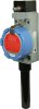 ISA100 WBX Series Hazardous Area Limit Switch, RP-SMA antenna jack, side rotary momentary, ISA100.11a wireless networking -- WBX1B00ABA