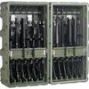 Pelican Custom Case for 12 ea M4s or M16s - Olive Drab -- PEL-472-M4-M16-12-137 -Image