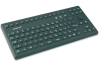 86-key IP68 Washable Silicone Keyboard -- TKG-086-IP68-BLACK - Image