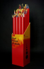 3M(MT) Kynar(R) Heat Shrink Tubing, clear, 2 in, 48 in sticks, 12 per box -- 051135-03169