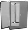 Painted Steel NEMA 12 Free Standing Two Door Dual Access Enc -- E5-904820DA