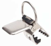 Sunspender Clip,Stainless Steel,Chrome -- 20V799