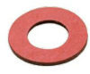 Flat Washers Red Fibre - Image