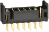 Rectangular Connectors - Headers, Male Pins -- H2855-ND