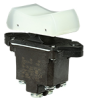 TP Series Rocker Switch, 2 pole, 3 position, Screw terminal, Above Panel Mounting -- 2TP216-10 -Image