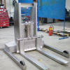 Stainless Steel Push Stacker