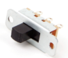 46200 Series Slide Switches, 2 Position, 1 Pol... -- 46206MRX