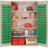 """Heavy-Duty All-Welded Storage Cabinets - 48"""" Wide - QSC-BG-4803 - Image"""