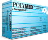 POLYMED LATEX EXAM POWDER FREE TEXTURED 90/BX -- 01019-02102