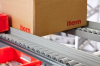Roller Conveyor St Guide Rail z, grey similar to RAL 7042 -- 0.0.639.05