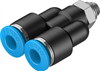 QSY-M5-6 Push-in Y-fitting -- 190674-Image