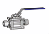 Swing Out Ball Valves - SUPERLOK Tube End Connection