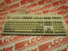 KEYBOARD QWERTY W/NUMERICAL KEYPAD BEIGE -- BTC53