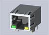 Modular Connectors / Ethernet Connectors -- A63-144-313P161 -Image