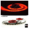 RED SIDE FIRING LED STRIP LIGHT PARK TURN BRAKE 60 LED 24 INCH -- STRIP_24_F_R