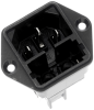 Power Entry Connectors - Inlets, Outlets, Modules -- 486-1035-ND -Image