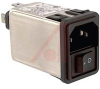 Module, Power Entry, Two Function, DPSTw/IEC 320 connector, Snap-in, Unfiltered -- 70185788