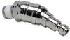 Swivel Air Fitting: steel, 1/4n Truflate plug & 1/4in male NPT -- HSP14-14M-U - Image