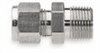 Compression pipe adapter, 5/8