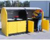 8 Drum Hard Top Storage Unit -- DRM9651