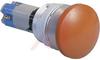 30MM IP65 SPLASHPROOF & OIL TIGHT MUSHROOM SWITCHES, MOM. SWITCH, SPST, RED -- 70162363