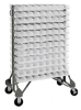 Bins & Systems - Clear-View Bins - Ultra Stack and Hang - Steel Rail Packages - QRU-12D-220-192CL - Image