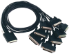MDB68 to (8) DB25M Cable -- CA202