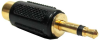 S/PDIF Adapter,3.5mm MONO Plug to RCA Mono Jack Gold Plated -- 251-200