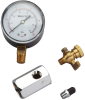 Air Test Assembly Gauge with Shutoff Valve -- IWTG-NYC