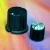 Black Phenolic Control Knobs -- Molded Phenolic Series - Image