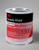 3M™ Scotch-Weld™ Neoprene High Performance Rubber And Gasket Adhesive 1300 Yellow, 1 Gallon, 4 per case -- 1300 - Image