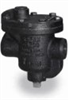 Cast iron inverted bucket steam trap; 1/2