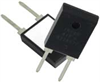 Thick Film Power Resistor for High Frequency and Pulse Loading Applications, 100 Watt -- TEH100 - Image