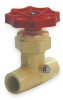 Stop And Waste Valve,1/2 In,100 PSI,CPVC -- 1CNR7 - Image