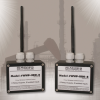 Wireless Pair of NEMA 16-Channel Optically Isolated Input / Relay Output Modules -- WWP-IIRO-8