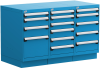 Stationary Compact Cabinet with Partitions -- L3AJG-3001C -Image