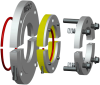 Soft Face Mechanical Seal -- OFS Type-2 Series -- View Larger Image