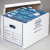 Corrugated File Record Storage Box -- T9H336246 - Image