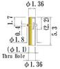 Small Size Socket Pin -- JOKP50-GG -Image